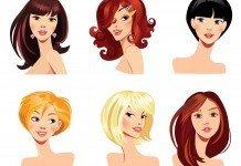 Frisuren zur Gesichtsform