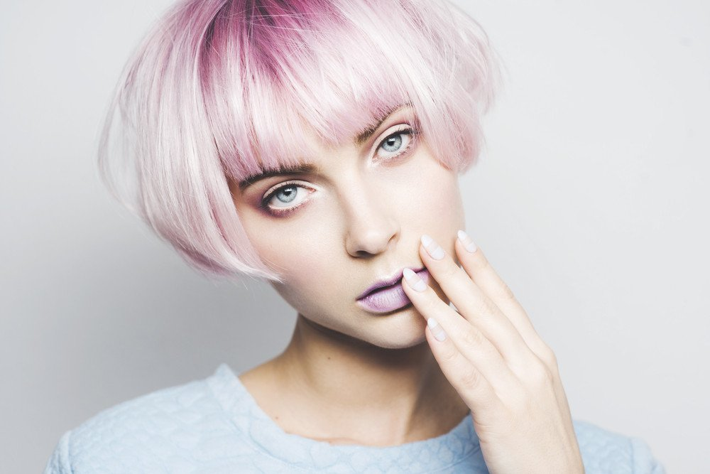 Pretty In Pink Pinke Haare Frisuren Magazin