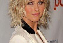Frisuren Julianne Houghs Blond Mittellangfrisur Bob Locken Wellen Blond s_bukley / Shutterstock.com