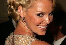 Frisuren Katherine Heigl Blond Hochsteckfrisur s_bukley / Shutterstock.com