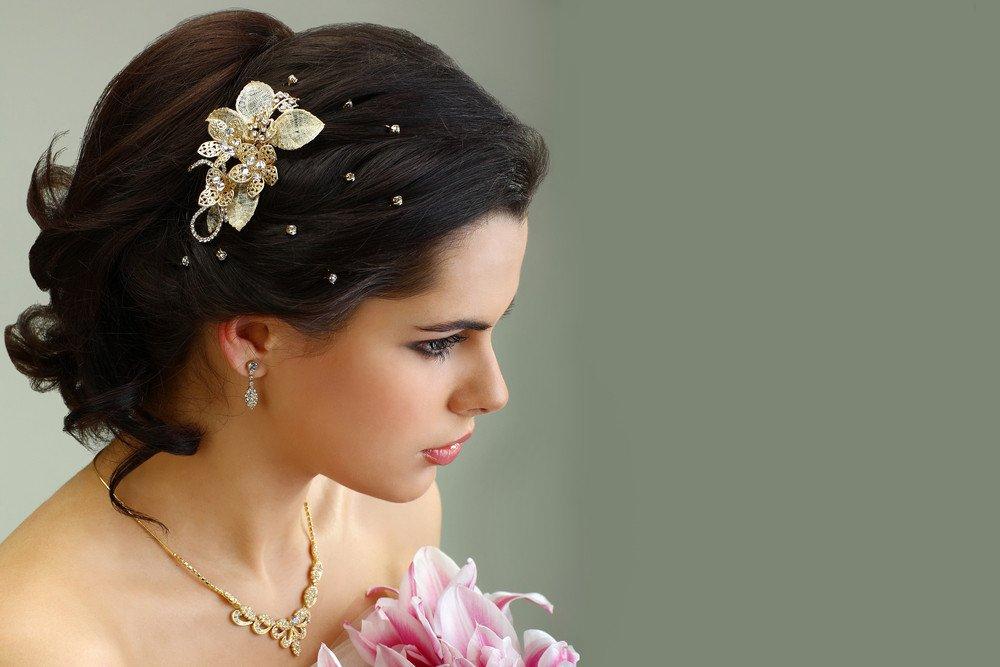 Tipps zu haarklammern haarschmuck frisuren magazin - Hochzeit haarschmuck ...