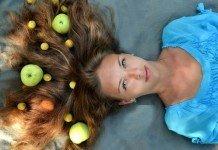 Haarpflege-Frucht-Shampoo