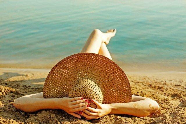 Haarpflege-Sonnenschutz-Haarpflege