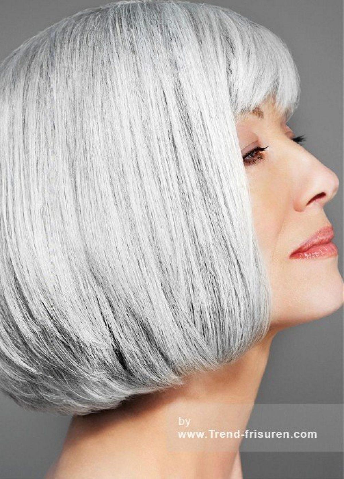 Kurzhaarfrisuren grau frauen Frisuren Frauen