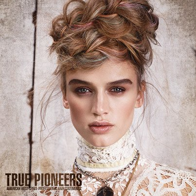 True Pioneers Frisuren Collection Herbstwinter 2015 Frisuren