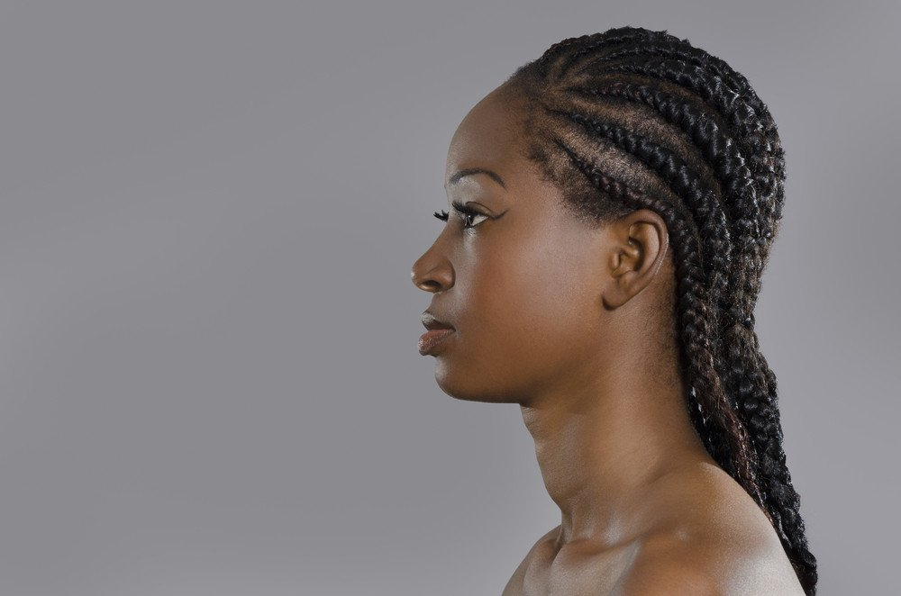 Afro Frisuren Cornrows Langhaarfrisuren