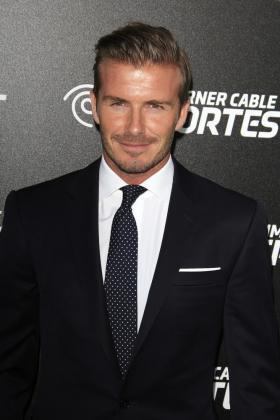 David Beckham Frisuren Elegant Stil Anzug Haare Gel