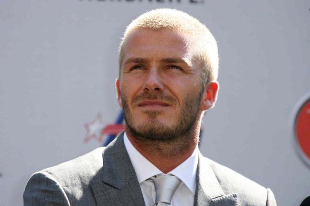 David Beckham Frisuren Glatze Kurz Short Hair