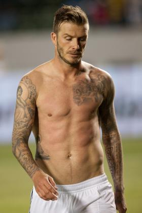 David Beckham Frisuren Kurz Herrenfrisur Blond