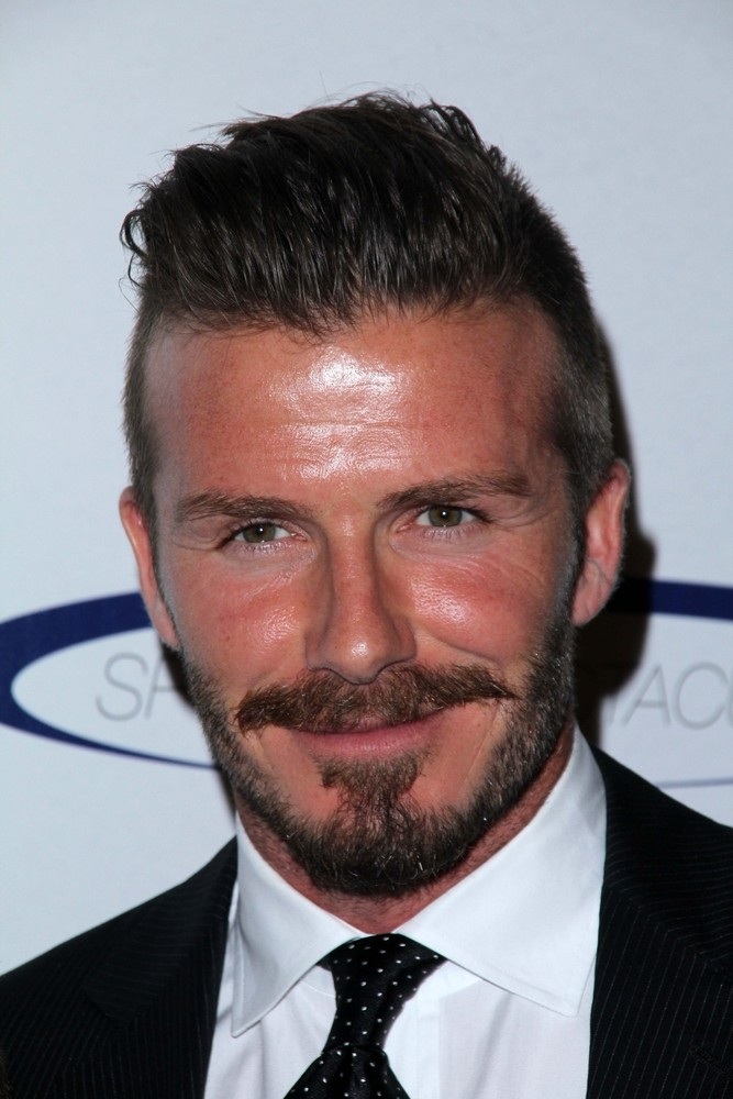 David Beckham Frisuren