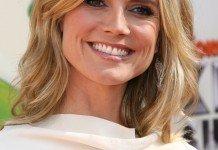 Heidi Klum Frisuren Blond Mittellangfrisur Bob Longbob s_bukley / Shutterstock.com