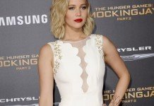 Jennifer Lawrence Frisuren Blond Bob Locken Scheitel Tinseltown / Shutterstock.com
