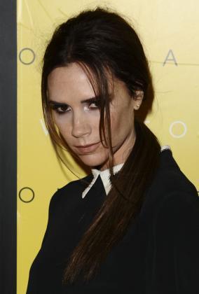 Victoria Beckham Frisuren Langhaar Dunkel Zopf