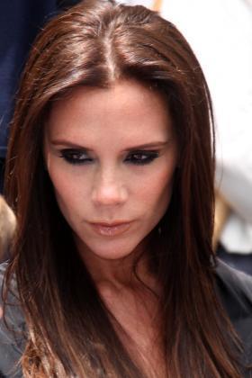 Victoria Beckham Frisuren Lanhaar Braun Langes Haar