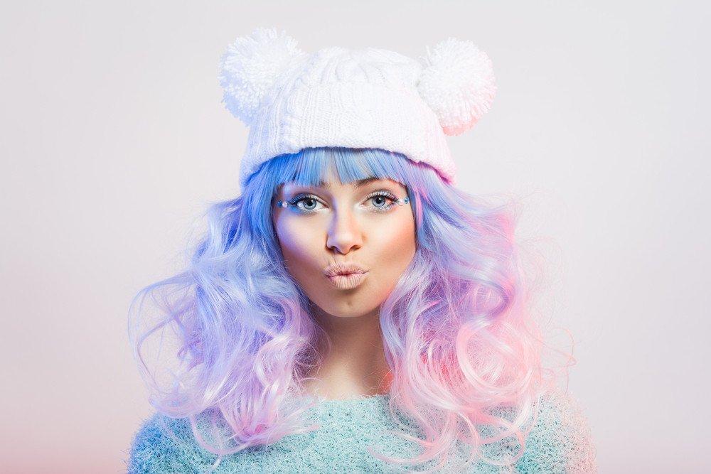 Haarfarbentrend Pastell Frisuren Magazin