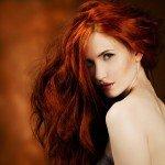 Haarfarbe Rot Kupfer Haartrend