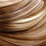 Highlights Strähnen Blond Frisur