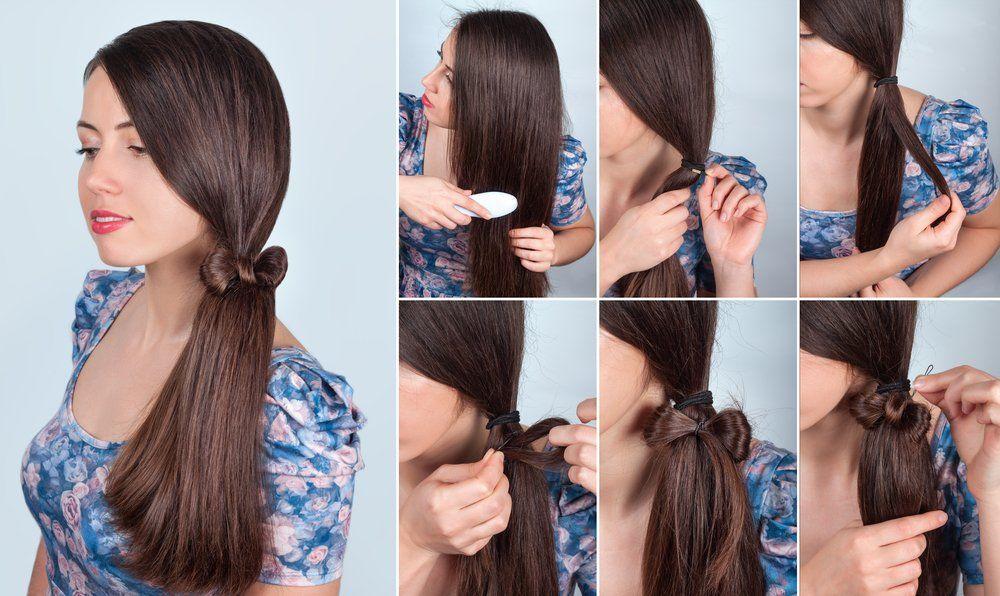 Tutorial Seitlicher Schleifen Zopf Frisuren Magazin