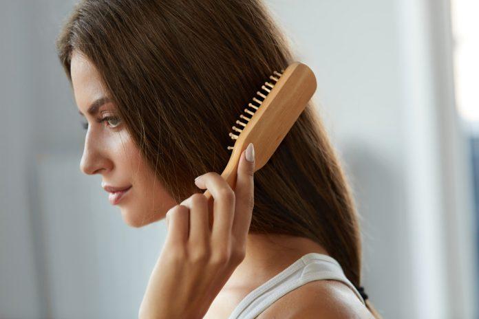 Paddle Brush Frisuren Haare Bürste