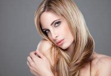 Strähnchen Haare Frisuren Blond