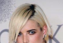 Wasserstoffblond Agyness Deyn Haarfarbe