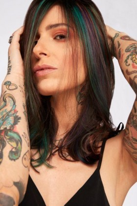 #COLORFULHAIR Vanesa