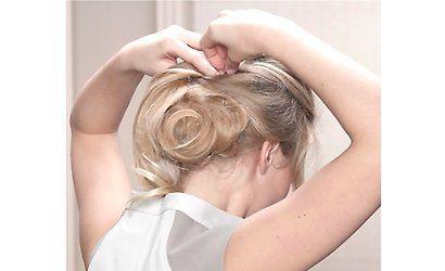Sommer Frisuren Chignon 6