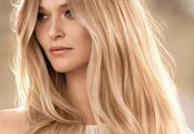 Langhaarfrisur Haarfarbe Blond Nuancen Trend Fotocredit L'Oréal Professionnel