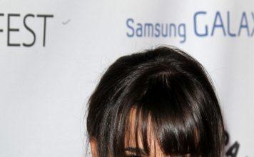 Lea Michele Sarfati Frisuren Hairstyle Brunett Langhaarfrisuren Pony Kathy Hutchins Shutterstock.com