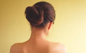 Chignon Styling Anleitung
