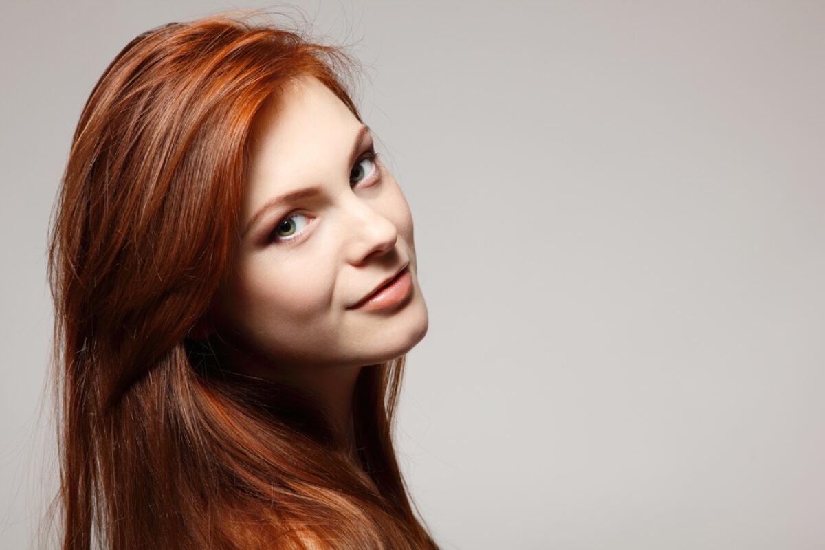 Rot gefärbte haare blondieren