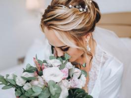 Hochzeit Frisuren Ideen - Blond Hochsteckfrisur